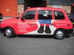 The new Davis Blank Furniss Taxi