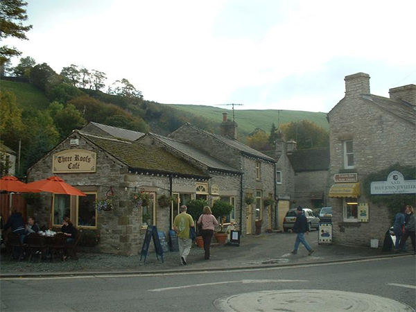 Castleton Village in the High Peak