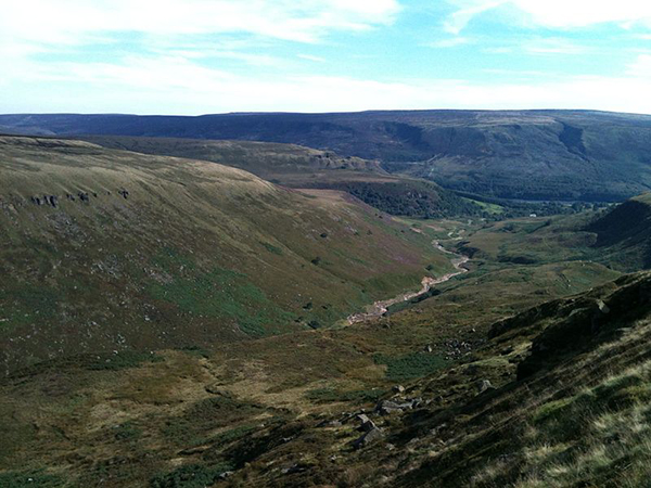 Part of the High Peak near Crowden