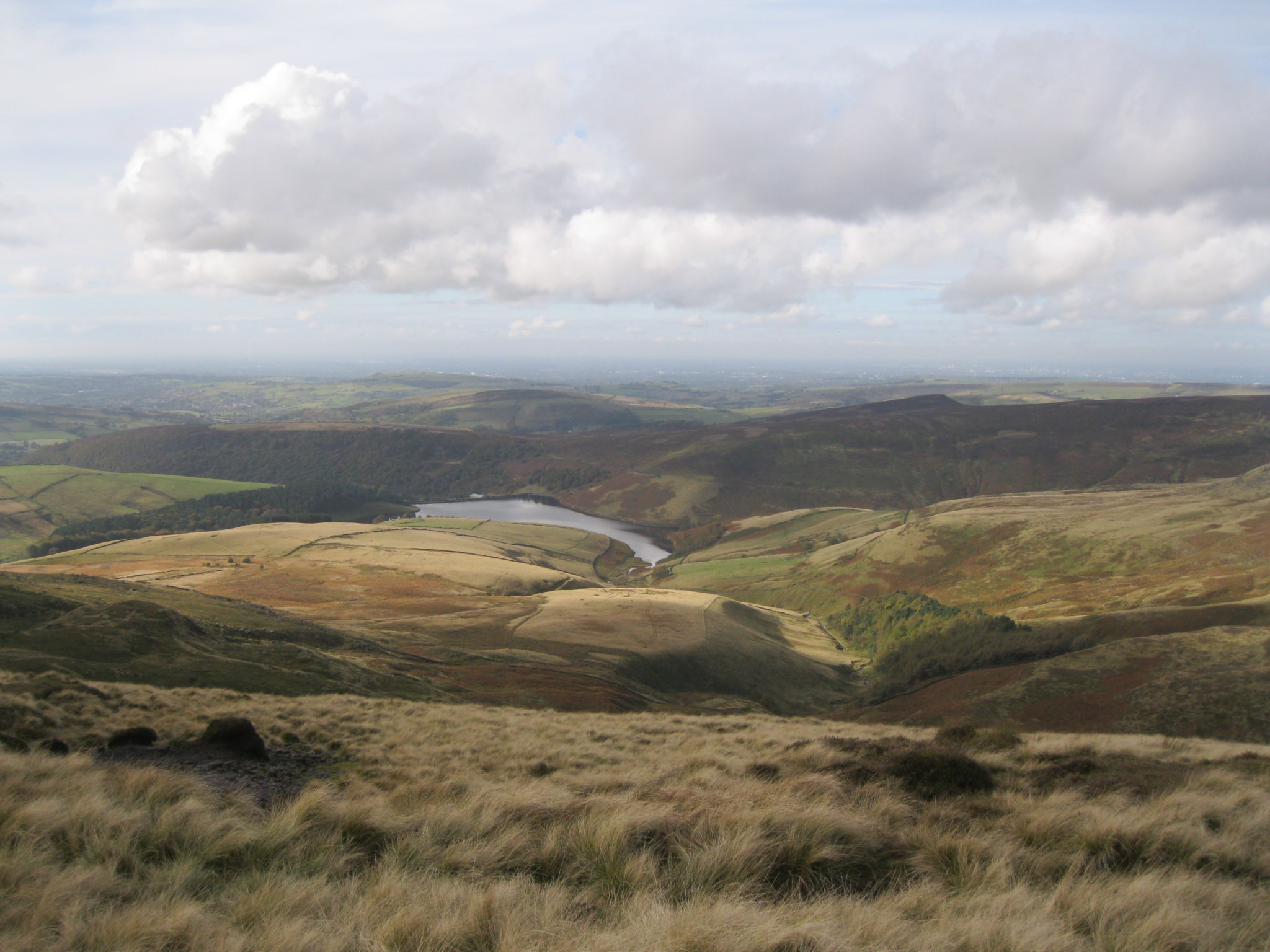 View from Kinder Scout in the High Peak