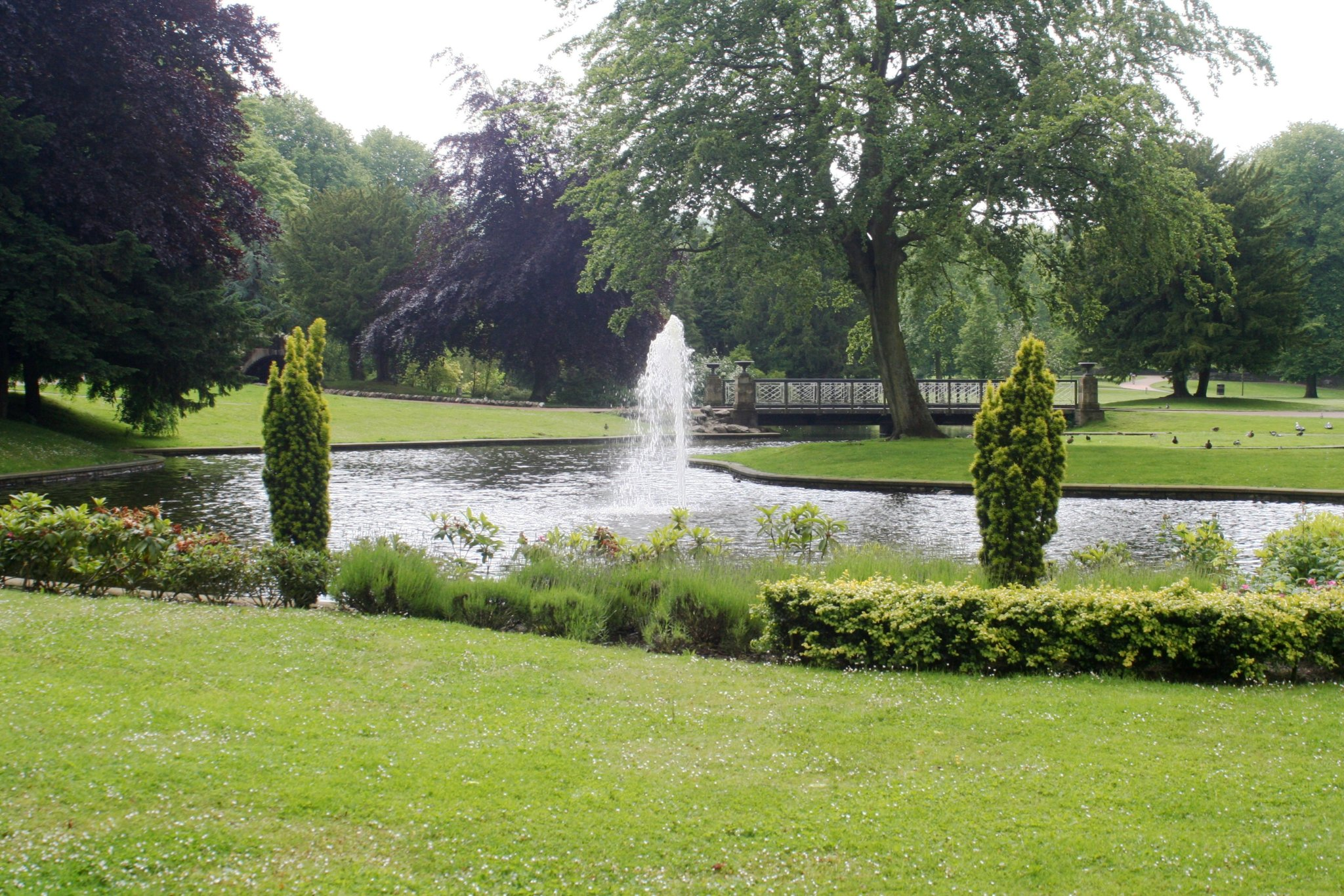 Pavilion Gardens in Buxton