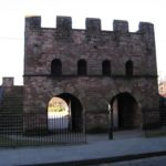 Mamucium Fort in Castlefield, Manchester