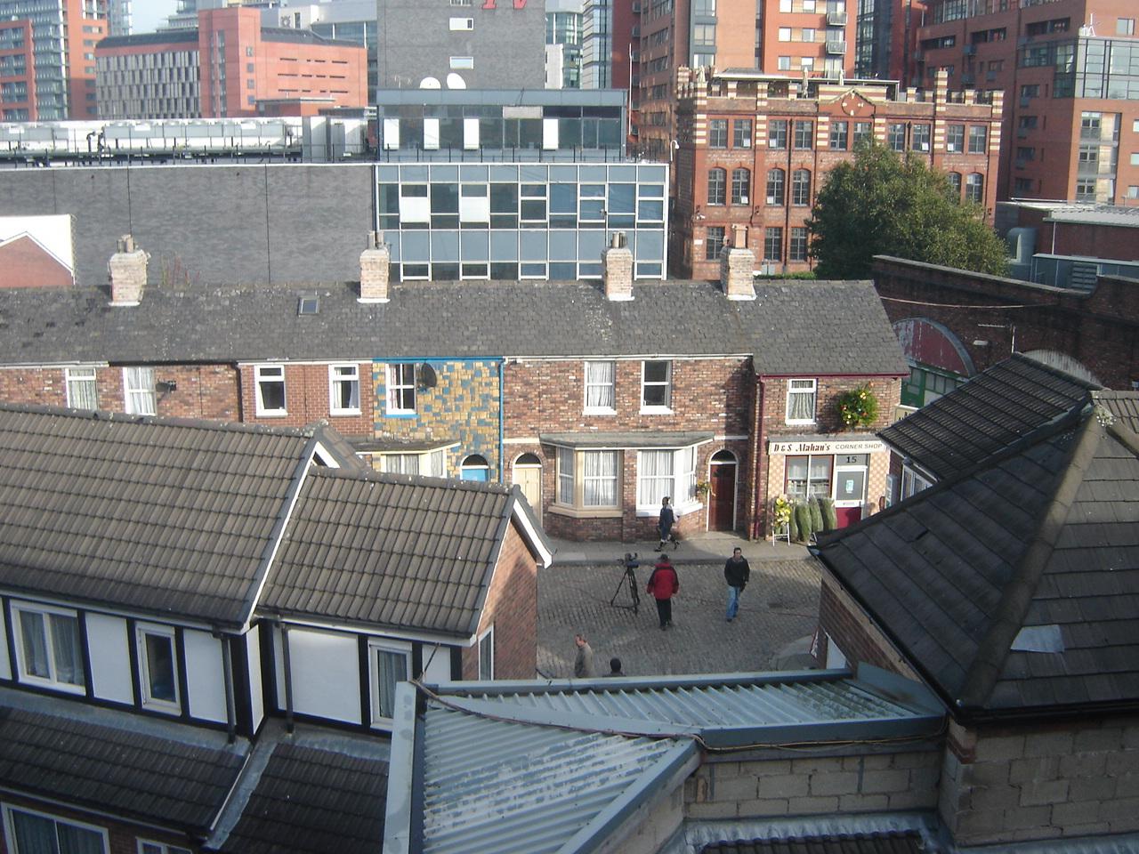 Coronation Street's former Quay Street set at Granada Studios
