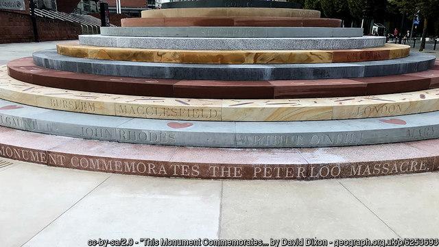 Peterloo Massacre Memorial