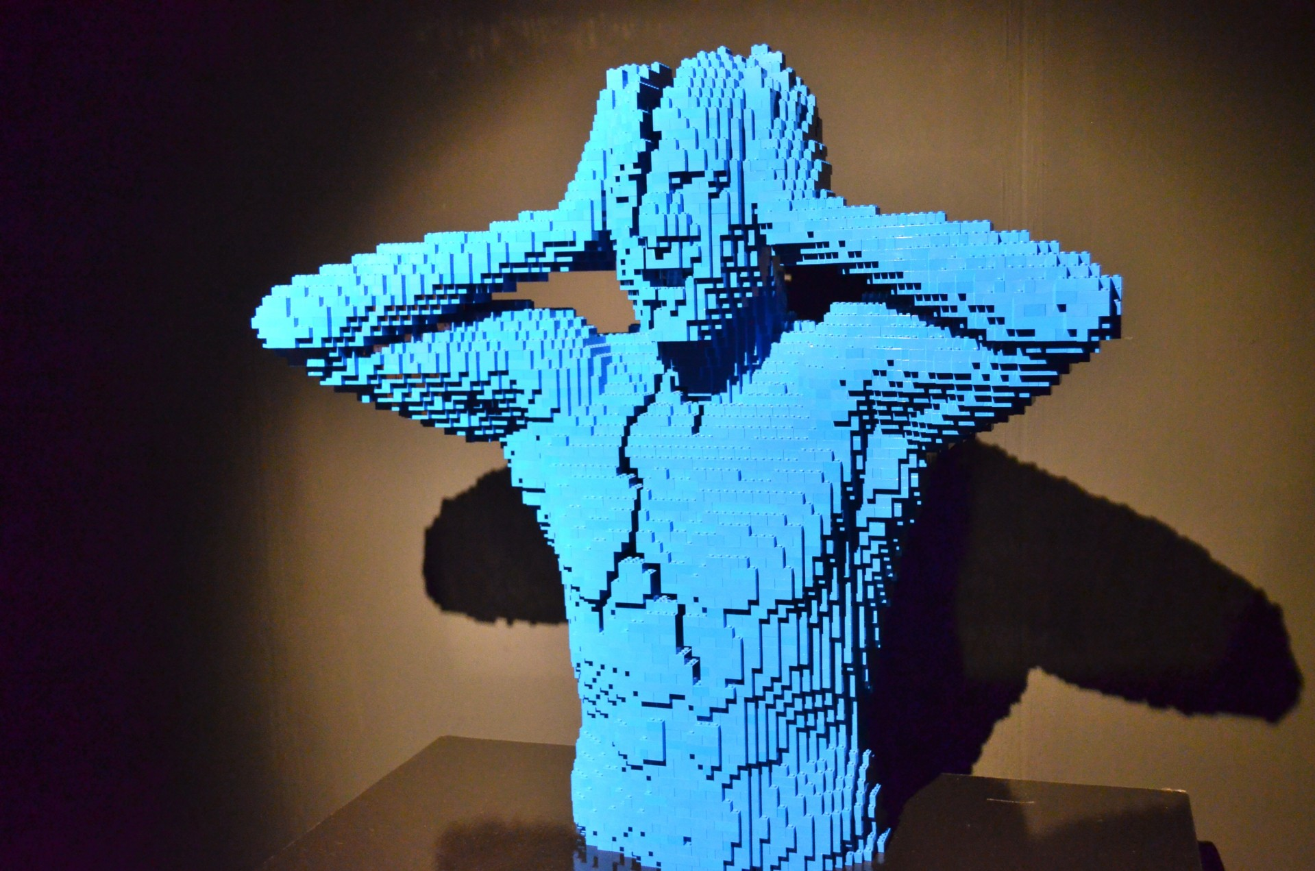 Art of the Brick exhibition, Manchester