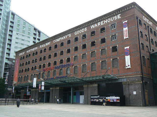 Great Northern Warehouse, Manchester