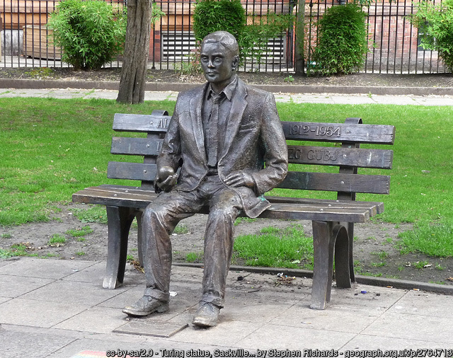 Alan Turing statue, Manchester