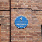 Alan Turing plaque at University of Manchester