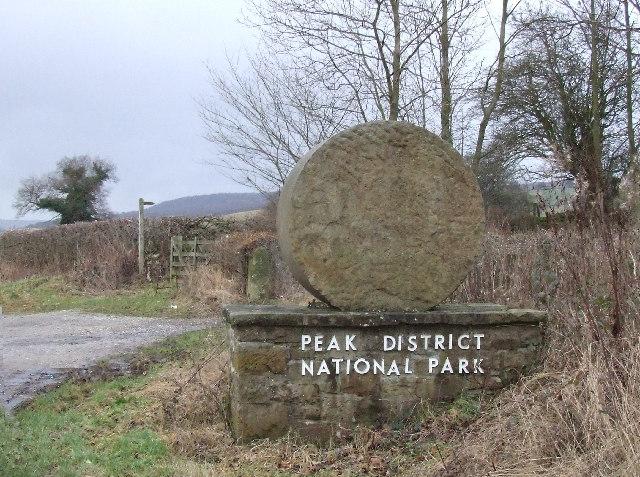 Peak District National Park entrance